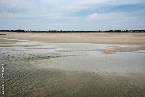 Obraz na plátně maree basse havre st germain sur ay.jpg