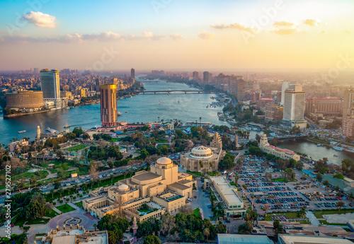 Fotografie, Obraz  Panorama of Cairo