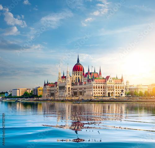 Obraz Parlament w Budapeszcie - fototapety do salonu