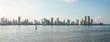 Panorama sky line Cartagena Colombia