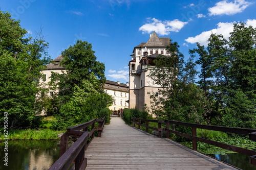 Fotografie, Obraz  Blatna chateau, Czech Republic