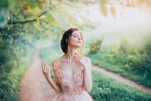 Charming Goddess Of The Spring...