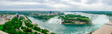 The Niagara River And Falls
