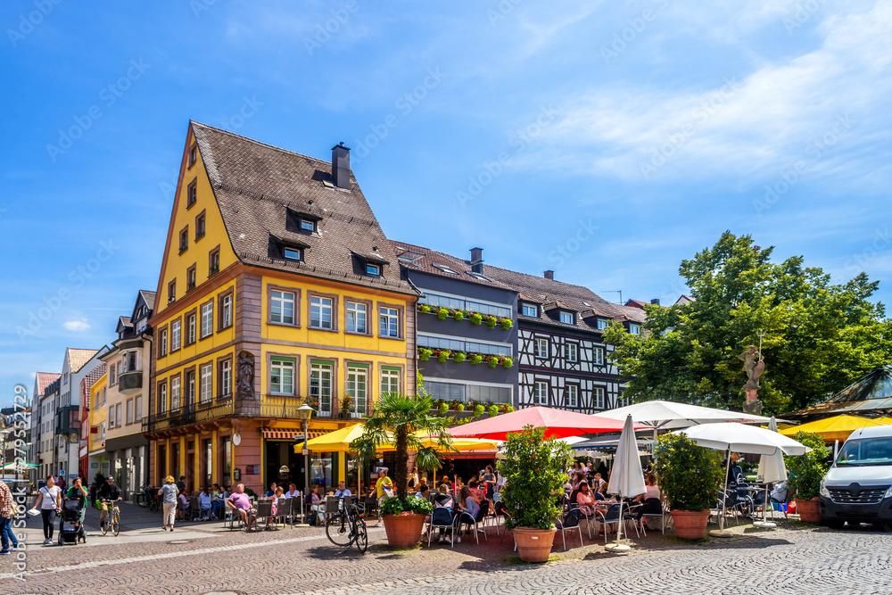 Fototapety, obrazy: Altstadt, Offenburg, Deutschland