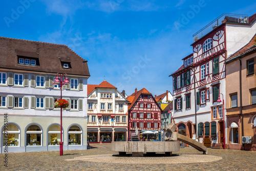 Marktplatz, Lahr Schwarzwald, Deutschland  - fototapety na wymiar