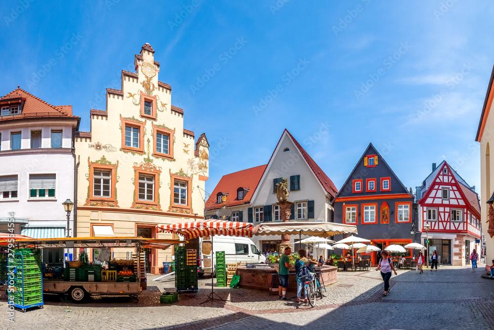 Fototapety, obrazy: Altstadt, Offenburg, Schwarzwald, Deutschland