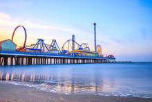 Galveston Early Morning Sunrise