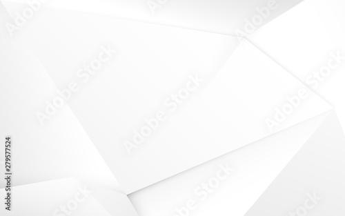 Obrazy białe  streszczenie-bialy-3d-chaotyczne-wielokatne-tlo-powierzchni-ilustracja-wektorowa