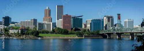 Downtown Portland, Oregon City View