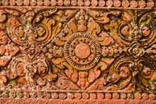Art Of Pink Sandstone Carving ...