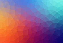 Color Theme Vector Abstract Ba...