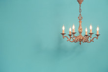 Retro Antique Old Bronze Chand...