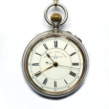 Old Pocket Watch From 1905 Isolated On White