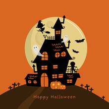 Happy Halloween Greeting Card ...