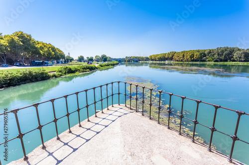 Cuadros en Lienzo Pont d'Avignon sur le Rhône, France