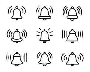 dzwon zestaw ikon