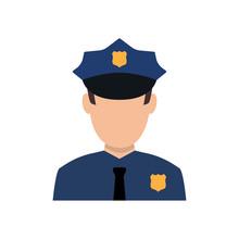 Police Officer Avatar Illustra...