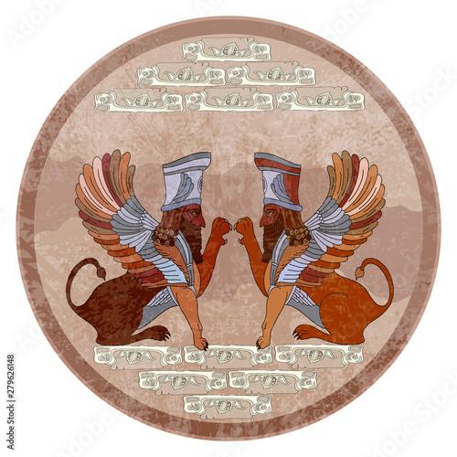 Photo Ancient Sumerian culture