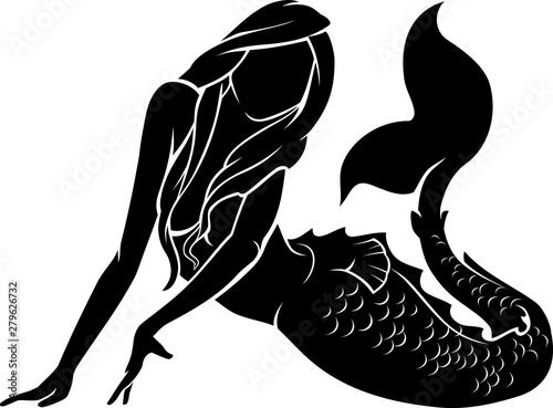 Obraz na płótnie Mermaid Pose