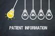 canvas print picture - Patient Information