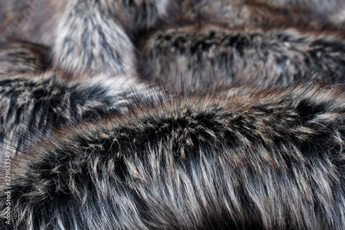 Wall Murals Owl Wolf fake fur texture background