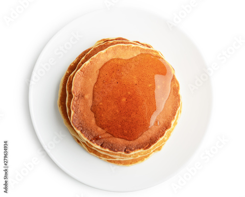 Fototapeta Pancakes with maple syrup obraz