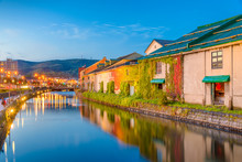 Historic Otaru Canals In Otaru...