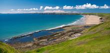 Newgale Beach In Pembrokeshire...