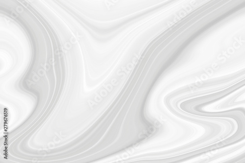 Fototapety, obrazy: The texture of white marble for a pattern of packaging in a modern style. Beautiful drawing with the divorces and wavy lines in gray tones for wallpapers and screensaver.