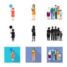 Vector Design Of Character And...