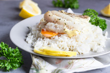 Fish Baked With Carrot, Onion,...
