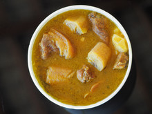 Sancocho Soup. View From Above...