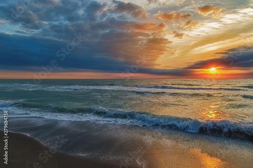 Fototapety, obrazy: ethereal ocean sunset
