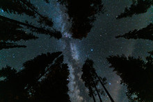 Milky Way Over Mazama Campground In Crater Lake National Park