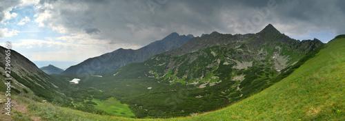 Panorama na Dolinę Białych Stawów Tatry Wysokie Słowacja