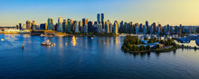 Panoramic View Of Vancouver Ci...