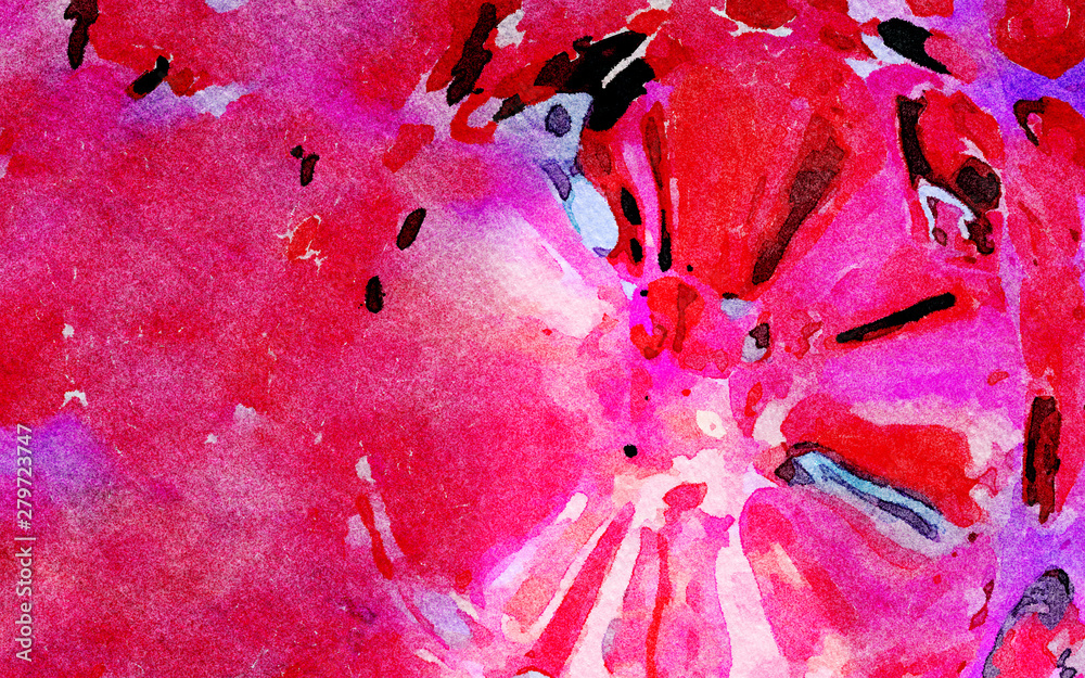 Abstraction pattern for decorate fabric and textile, create pretty booklets, brochures, cards backdrop and graphic background for digital and web products, contemporary massive volume strokes of paint