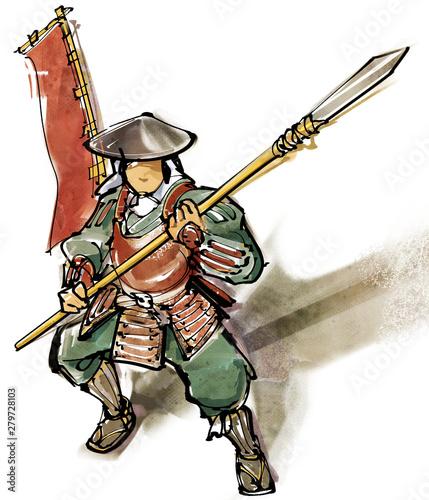 Cuadros en Lienzo 足軽歩兵