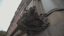 Gargoyle Statue On The Side Of...