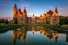 Castle In Moszna During The Su...