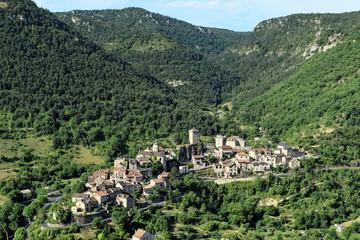 Fototapeta na wymiar Gorges de la Jonte - Peyreleau