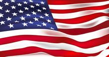 US Flag Vector. Stars And Stri...