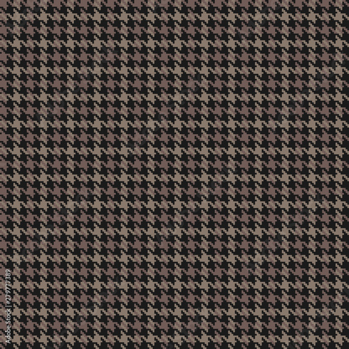 Photo  Houndstooth seamless pattern. Vector background