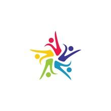 Community Logo Template Vector...