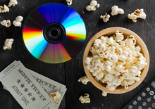 DVD Or Blu Ray Movie Disc With...