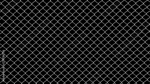 Pinturas sobre lienzo  Wire mesh steel on black background