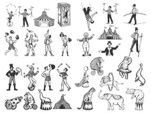 Retro Circus Performance Set S...