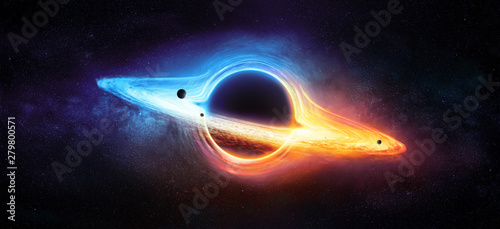 Fotografie, Obraz Black Hole In Milky Way