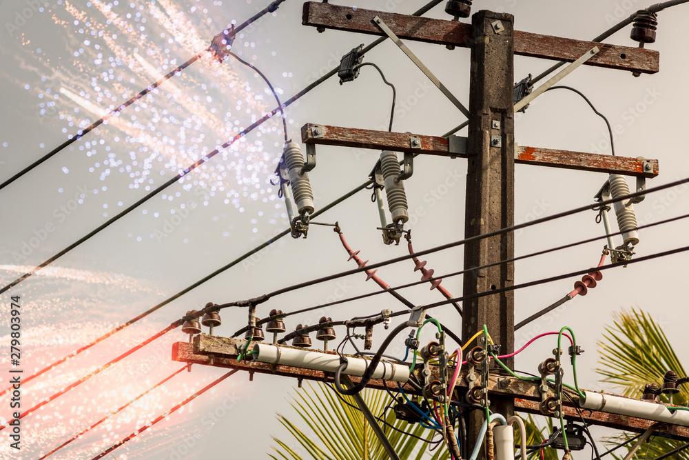 Fototapety, obrazy: Power surge