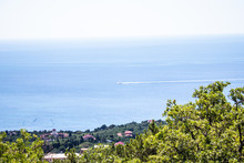 Black Sea View From The Mounta...